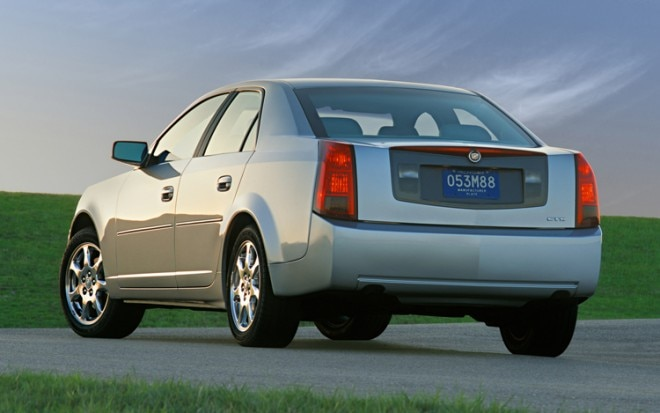 2006 Cadillac CTS Rear View1 660x413