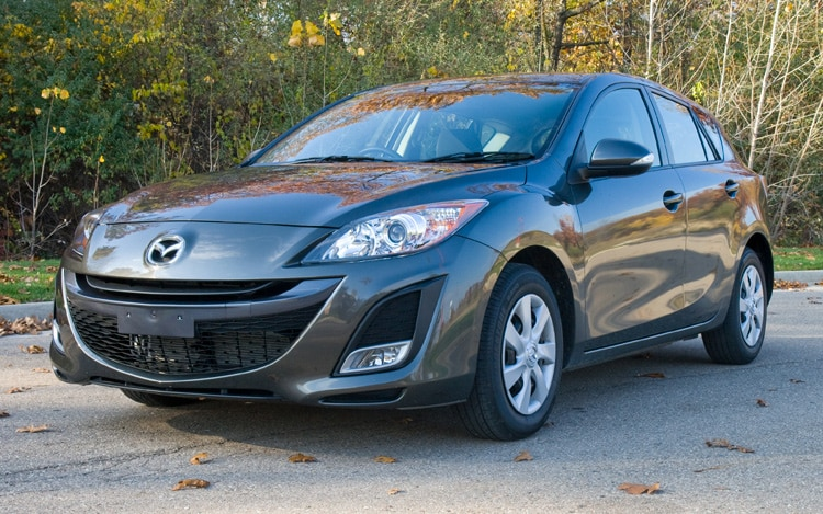 2010 Mazda3 I Stop Front Three Quarters Static