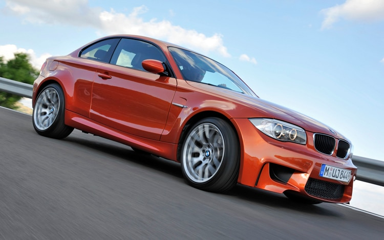 2011 BMW 1 Series M Coupe Front Three Quarter2