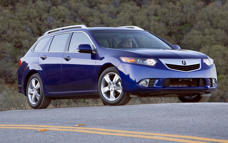 2011 Acura TSX Sport Wagon Front Three Quarter