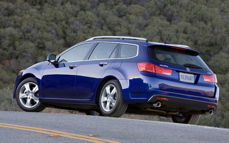 2011 acura tsx sport wagon first drive review. Black Bedroom Furniture Sets. Home Design Ideas