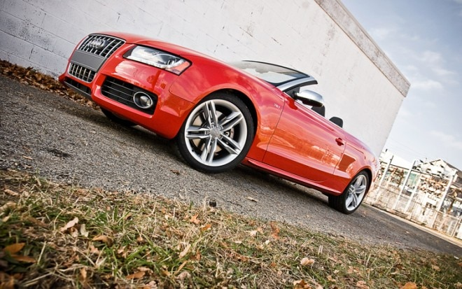 2011 Audi S5 Cabriolet 3 0t Front Three Quarters Ground Shot 660x413