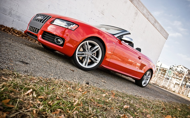 2011 Audi S5 Cabriolet 3 0t Front Three Quarters Ground Shot