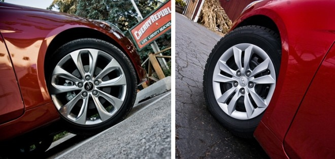 2011 Hyundai Sonata Snow Summer Tire Comparison 22 660x313