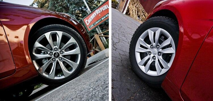 2011 Hyundai Sonata Snow Summer Tire Comparison 22
