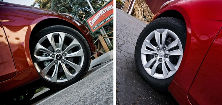 2011 Hyundai Sonata Snow Summer Tire Comparison 22