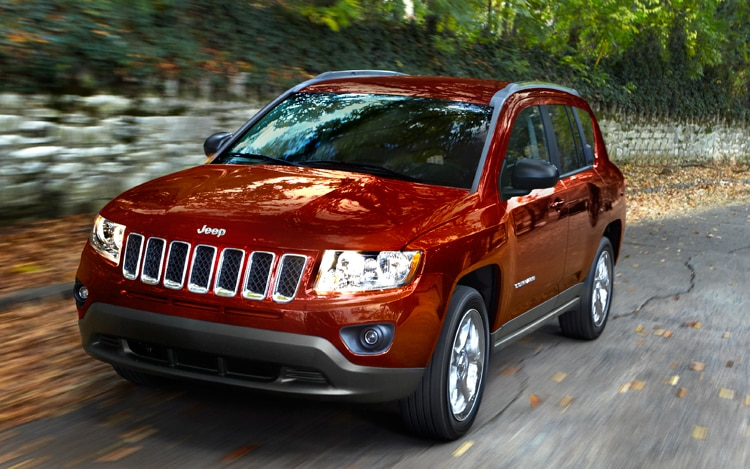 2011 Jeep Compass Front View In Motion1