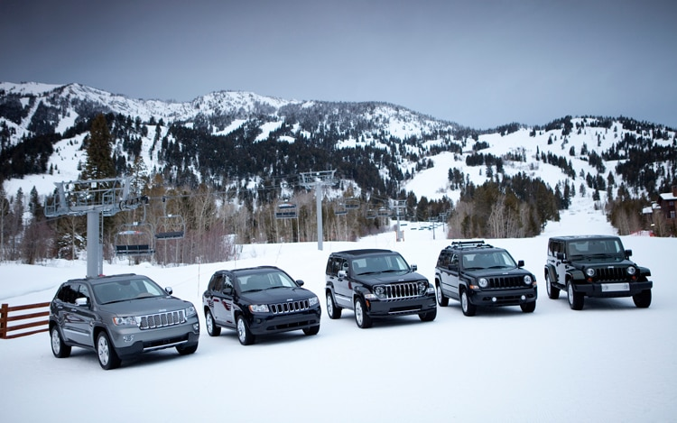 2011 Jeep Lineup