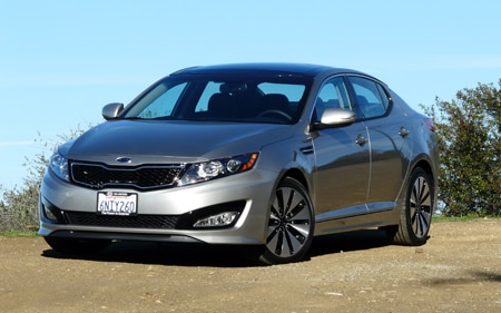 2011 Kia Optima SX Hp