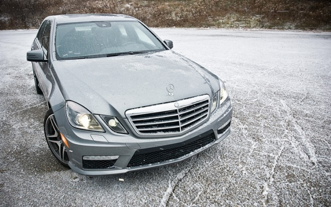 2011 Mercedes Benz E63 AMG Front Static 660x413