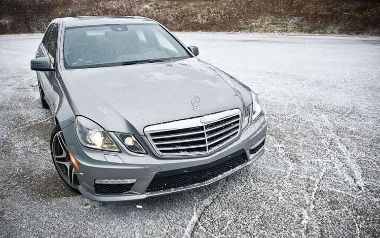 2011 Mercedes Benz E63 AMG Front Static