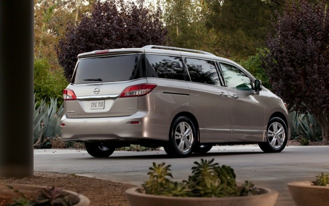 2011 Nissan Quest Rear Three Quarters Static 660x413