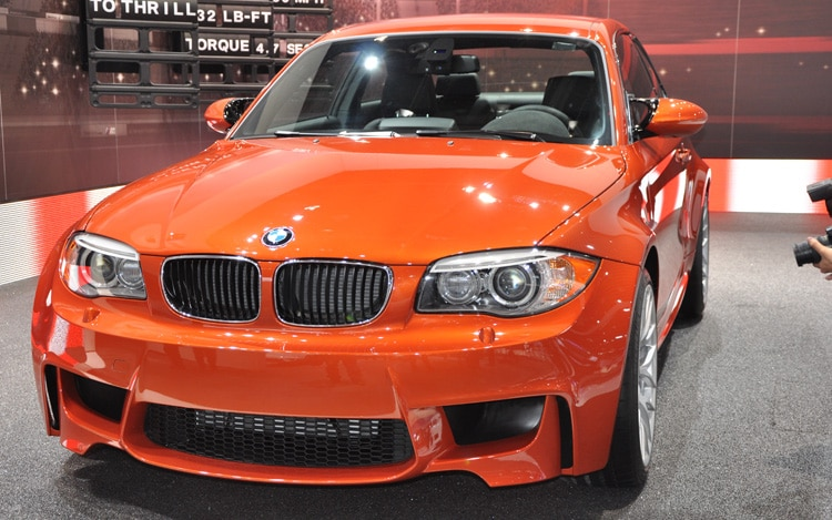 2012 BMW 1 Series M Coupe Front