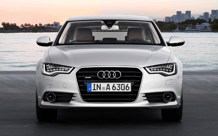 2012 Audi A6 Front Head On