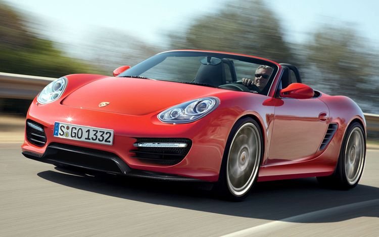 2012 Porsche Boxster Front Three Quarters1