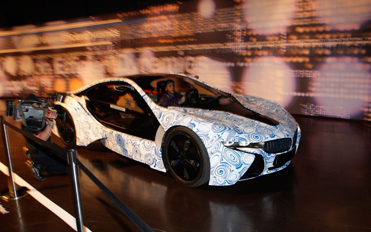 BMW I8 Prototype Front Three Quarters Passenger 2