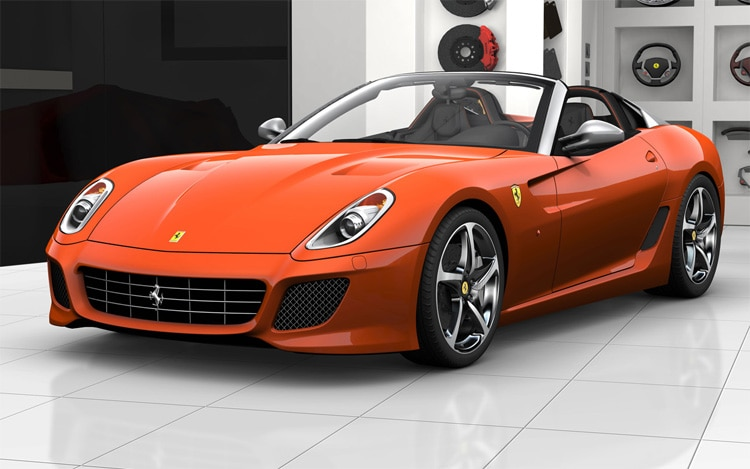 Five Alive Ferrari Reveals Five Color Packages For 599 Sa