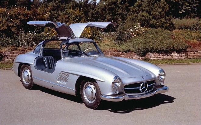 1954 Mercedes Benz 300SL Gullwing1 660x413