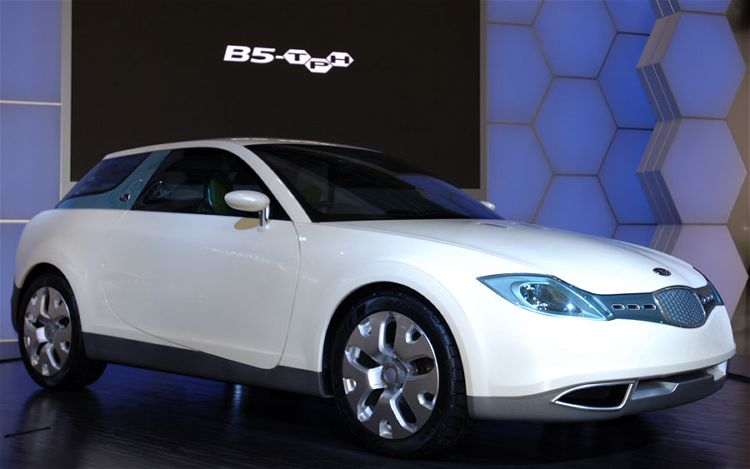 2006 Subaru B5 Tph Concept Front Side View 1