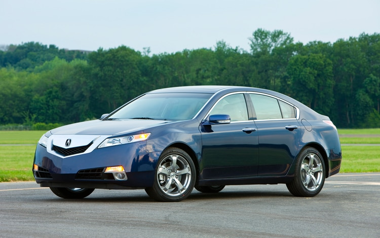 2011 Acura TL Front View1