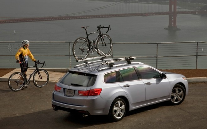2011 Acura Tsx Sport Wagon With Bikes1 660x413