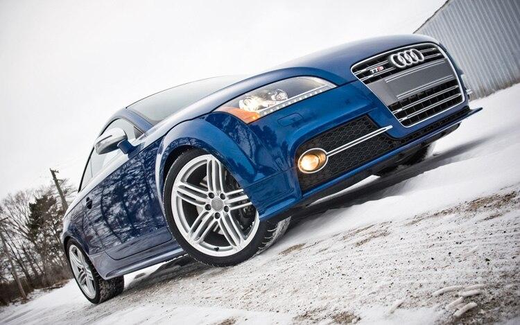 2011 Audi TTS Front Three Quarters Ground