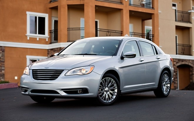 2011 Chrysler 200 Front Three Quarters Driver 660x413