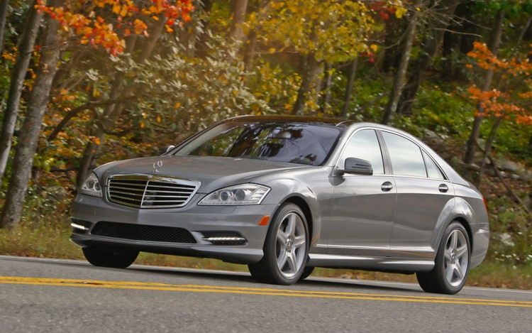 2011 Mercedes Benz S550 4matic Front Three Quarters