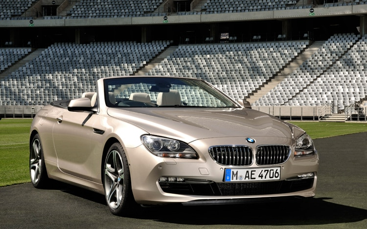 2012 BMW 650i Convertible Front Three Quarters