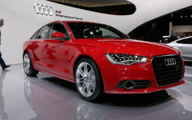 2012 Audi A6 Front Three Quarters View1 660x413