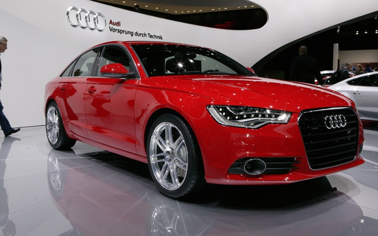 2012 Audi A6 Front Three Quarters View1