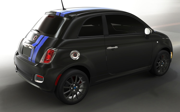 2012 Fiat 500 Side View