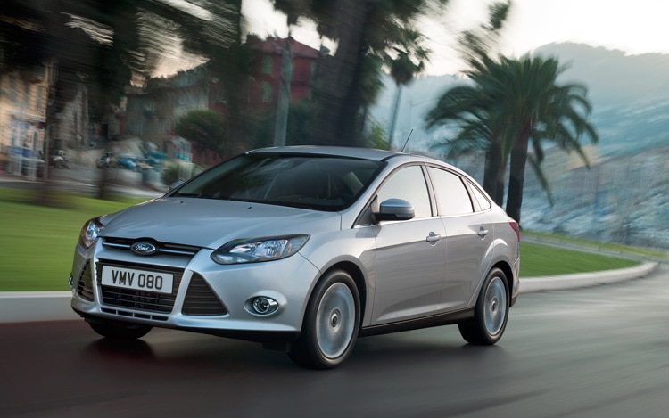 2012 Ford Focus Front Three Quarters View