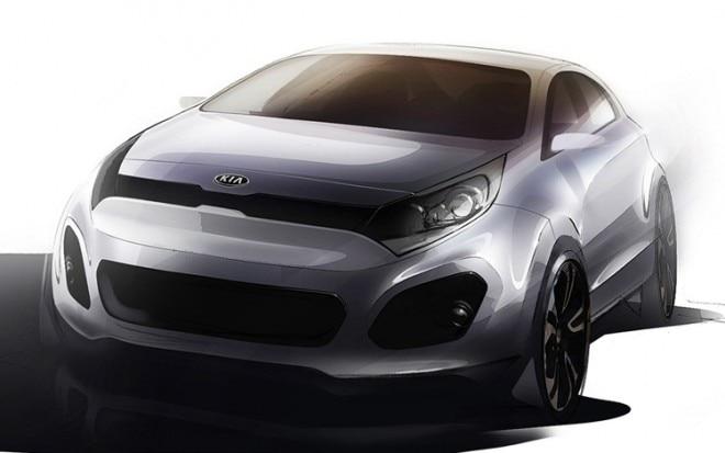 2012 Kia Rio Front View Preview Sketch1 660x413