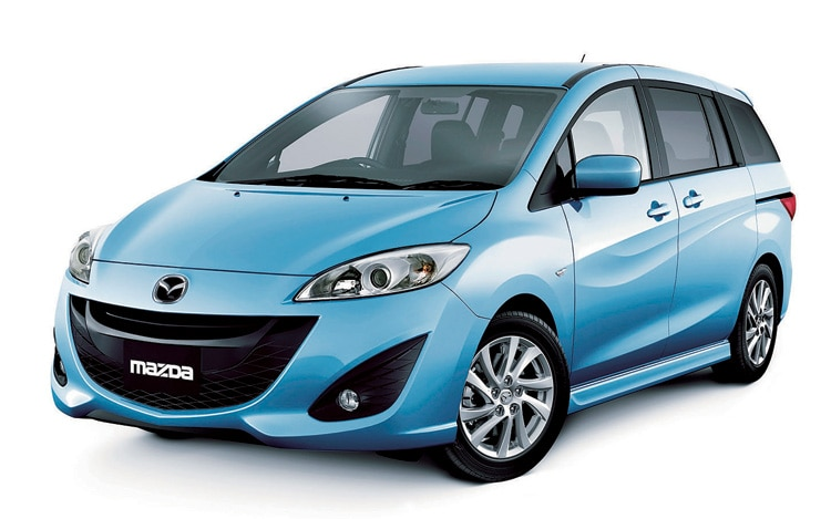 2012 Mazda 5 Front View 21