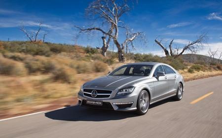 2012 Mercdes Benz CLS63 AMG Promo
