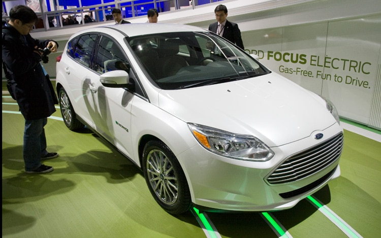2013 Ford Focus Electric Front View 21