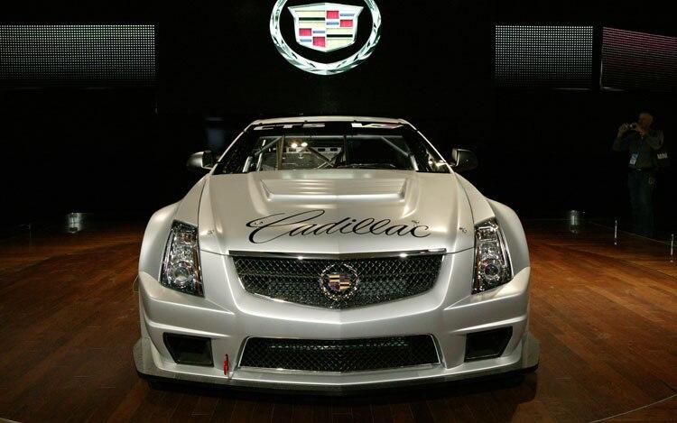 Cadillac CTS V Race Car Front1
