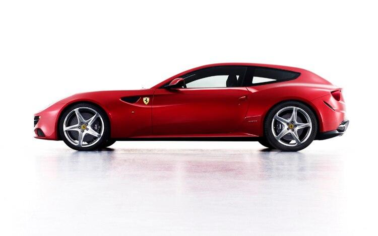 Ferrari Ff Side View1