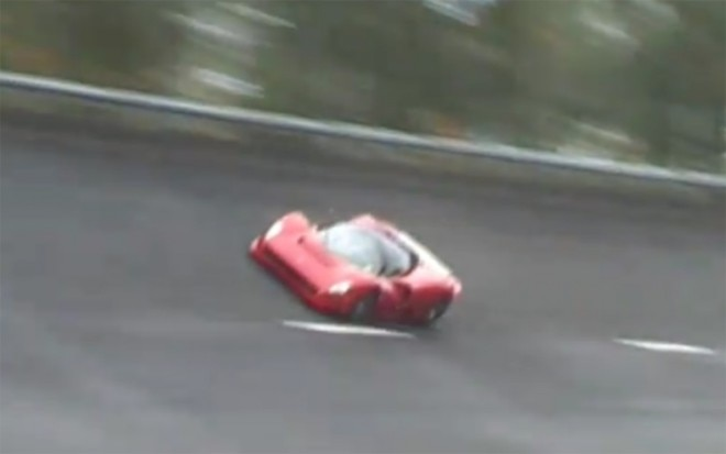 Ferrari P4 5 On The Track 660x413
