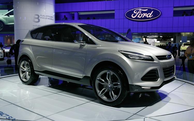 Ford Vertrek Concept Front Three Quarter1