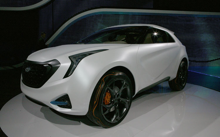 Hyundai Curb Concept Front Three Quarter 2