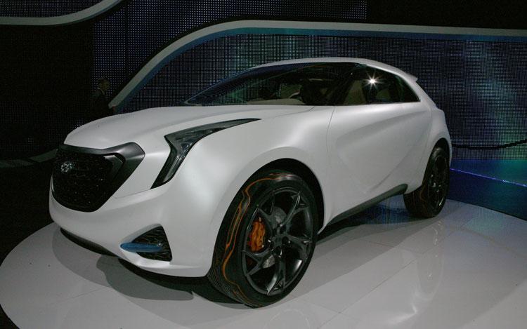 Hyundai Curb Concept Front Three Quarter 2
