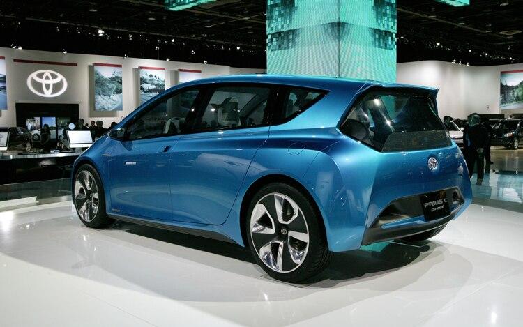 Toyota Prius C Concept Rear Three Quarters