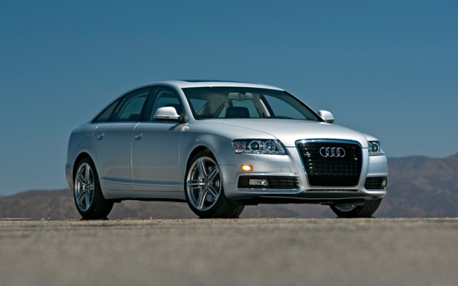 2009 Audi A6 3 0t Quattro Front Three Quarters Static1 660x413