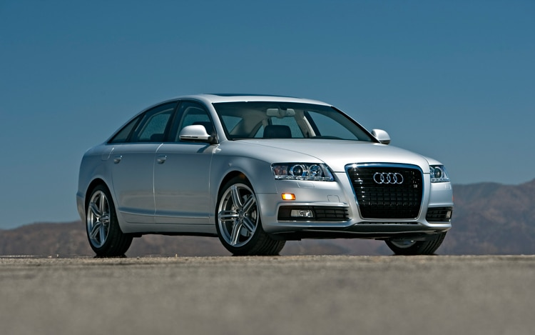 2009 Audi A6 3 0t Quattro Front Three Quarters Static1