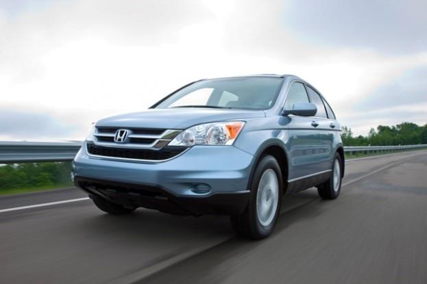 2010 Honda CR V Front Three Quarters