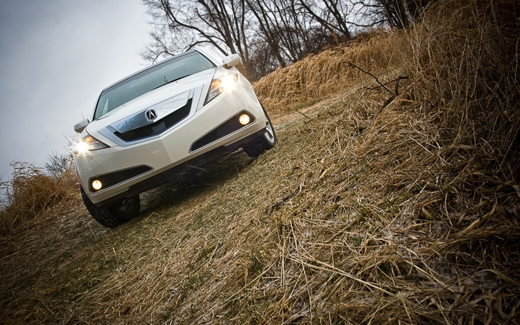 2010 Acura ZDX Front