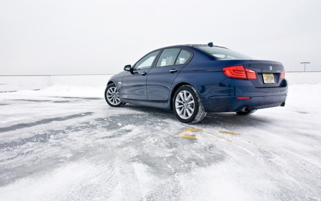 2011 BMW 535i Rear Three Quarters 660x413