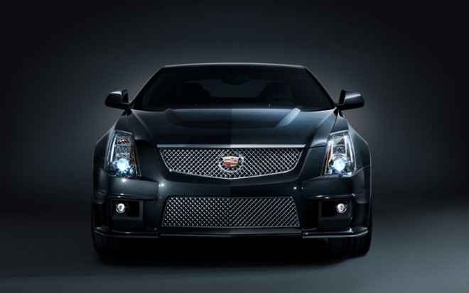 2011 Cadillac CTS V Coupe Black Diamond Front1 660x413